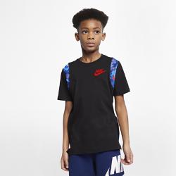 <ナイキ(NIKE)公式ストア>ナイキ スポーツウェア ジュニア (ボーイズ) Tシャツ AR5272-010 ブラック