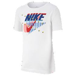 <ナイキ(NIKE)公式ストア>ナイキ Dri-FIT ジュニア (ボーイズ) トレーニング Tシャツ AR5306-100 ホワイト