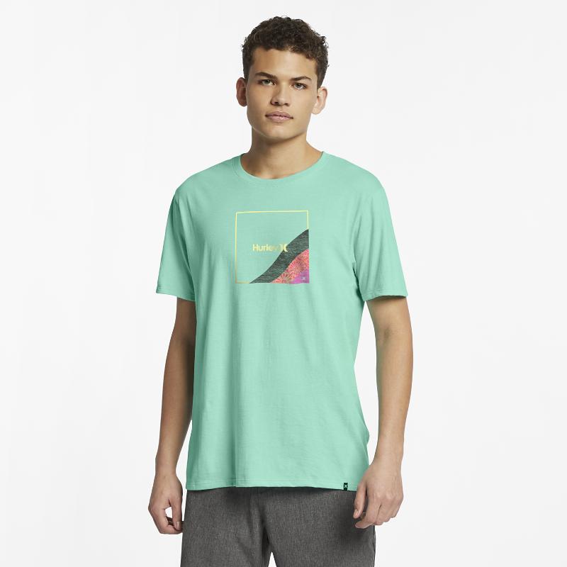 <ナイキ(NIKE)公式ストア>ハーレー プレミア フェーダー メンズ Tシャツ AR5462-333 グリーン