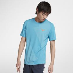 <ナイキ(NIKE)公式ストア>ラファ メンズ テニス Tシャツ AR5714-433 ブルー画像