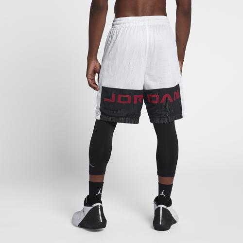 <ナイキ(NIKE)公式ストア> NEW ジョーダン AJ 13 メンズ バスケットボールショートパンツ AR6194-100 ホワイト 会員は送料無料