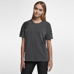 15%OFF!<ナイキ(NIKE)公式ストア>ハーレー シグ ゼーン ウォッシュ リンガー ウィメンズ Tシャツ AT0314-060 ブラック画像