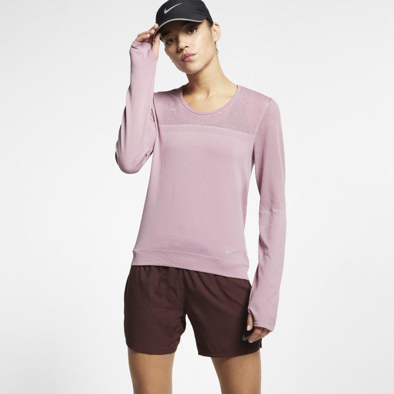 Nike Uzun Kollu Kadın Koşu Üstü  AT0782-515 -  Mor M Beden Ürün Resmi