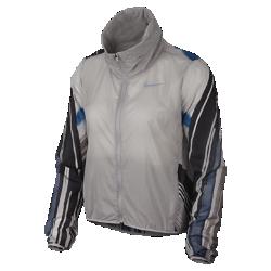 <ナイキ(NIKE)公式ストア>ナイキ インポッシブリー ライト ウィメンズ フーデッド ランニングジャケット AT3095-059 グレー画像