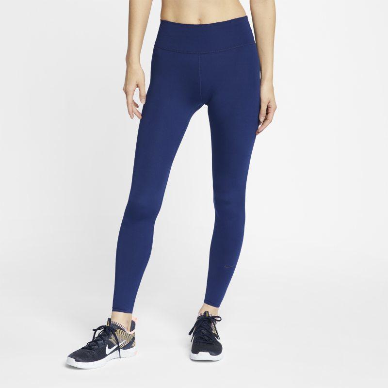 timeless design 3341d fe7f3 Nike One Luxe Mallas de entrenamiento - Mujer - Azul