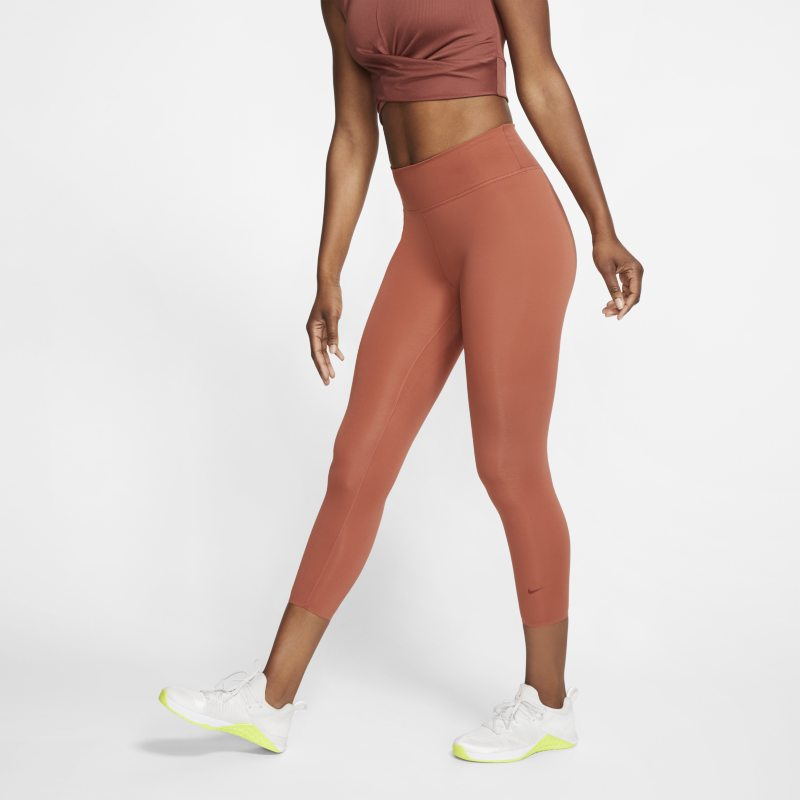 Nike One Luxe Mallas de tres cuartos - Mujer - Rosa