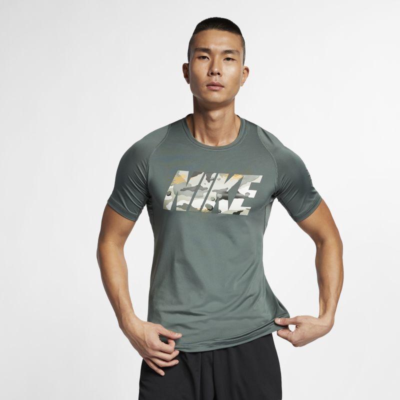 Nike Pro Men's Training Top - Green
