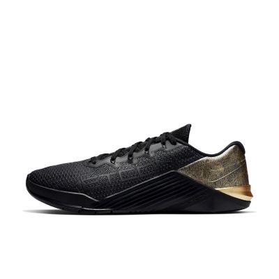 Nike Metcon 5 Black x Gold