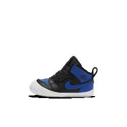 <ナイキ(NIKE)公式ストア>ジョーダン 1 ベビー クリブ ブーティー AT3745-007 ブラック ★30日間返品無料 / Nike+メンバー送料無料!画像