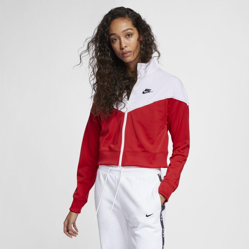 Nike Sportswear Heritage Kadın Antrenman Ceketi  AT3908-657 -  Kırmızı L Beden Ürün Resmi