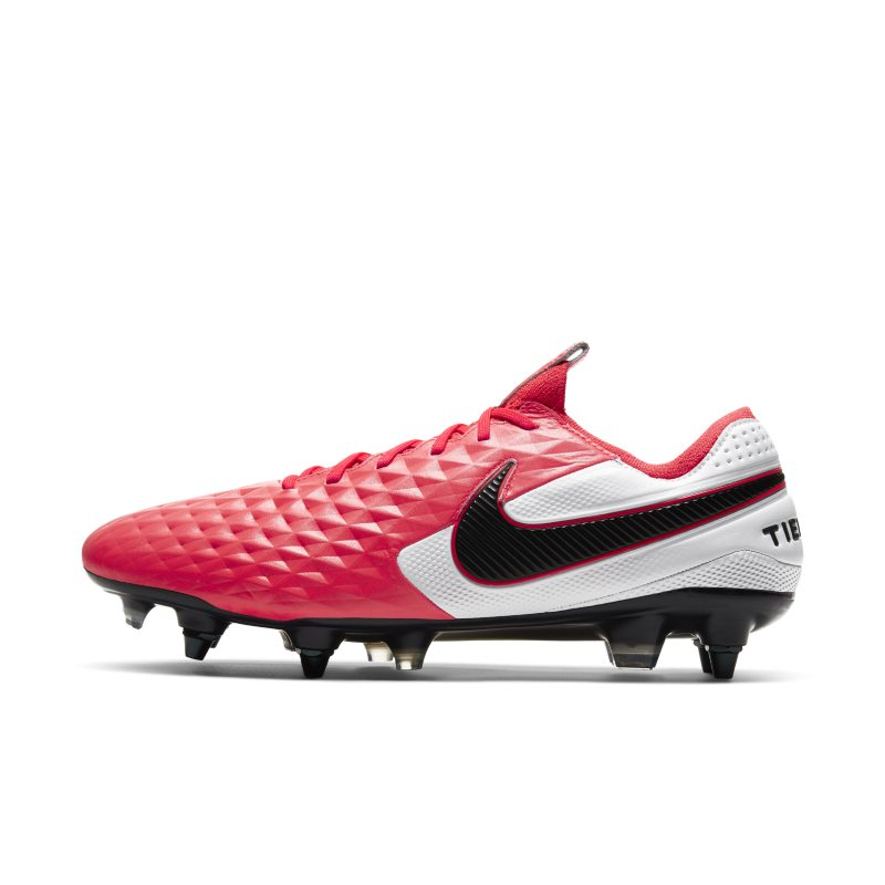 Nike Nike Tiempo Legend 8 Elite SG-PRO Anti-Clog Traction Soft-Ground Football Boot - Red