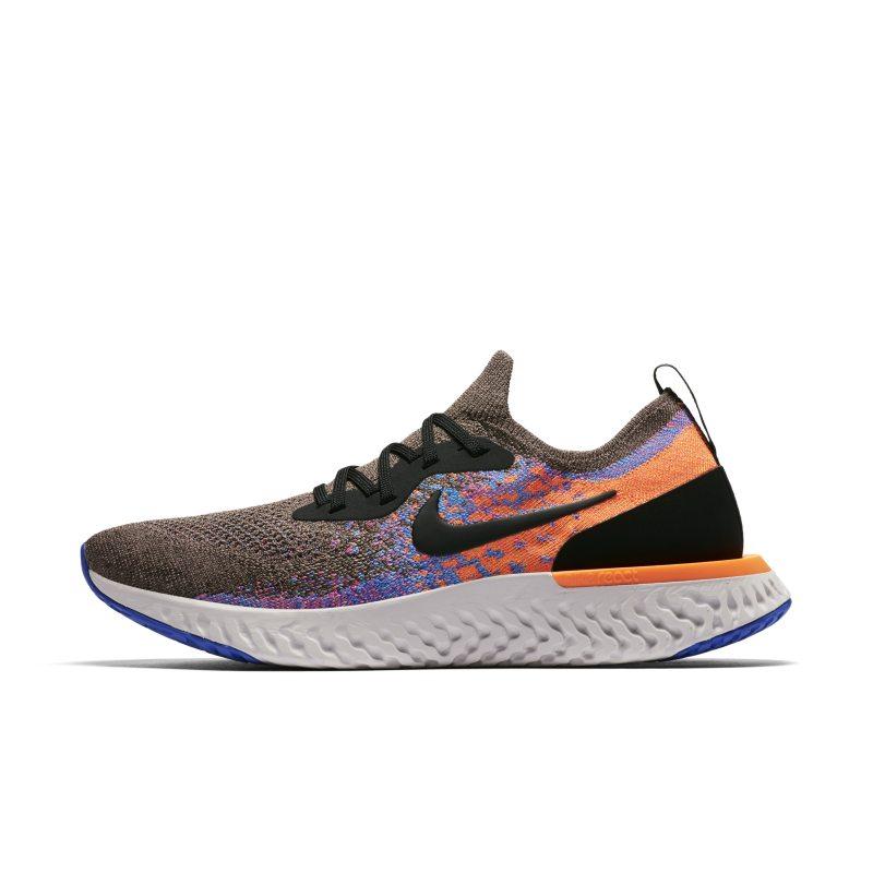 Scarpa da running Nike Epic React Flyknit - Uomo - Marrone