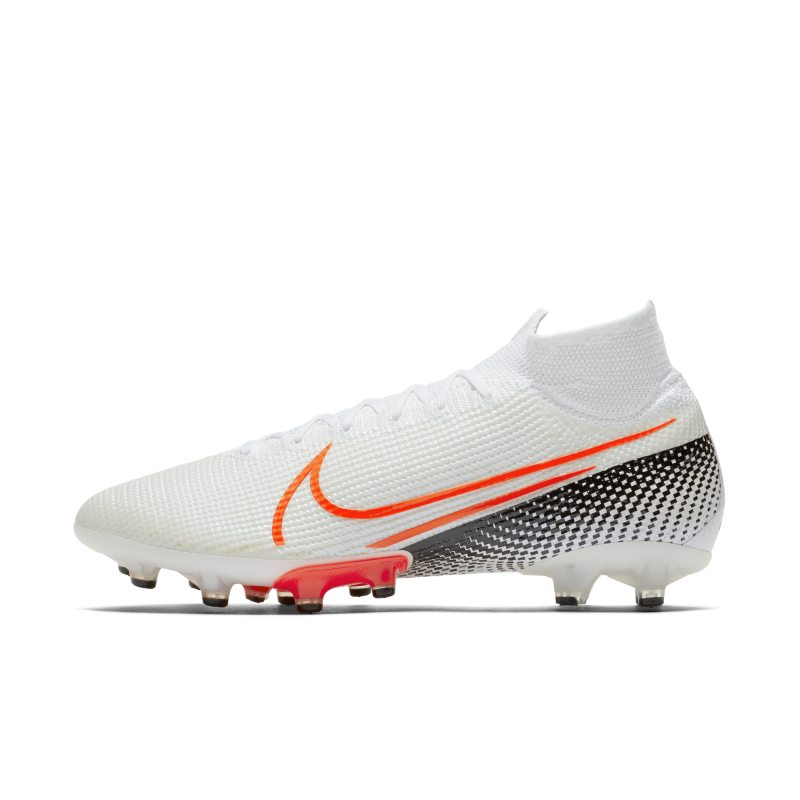Nike Nike Mercurial Superfly 7 Elite AG-PRO Artificial-Grass Football Boot - White