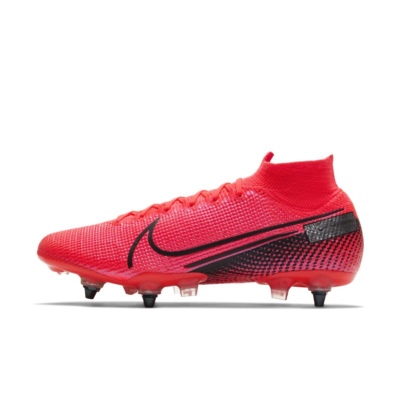 Nike Nike Mercurial Superfly 7 Elite SG-PRO Anti-Clog Traction Soft-Ground Football Boot - Red