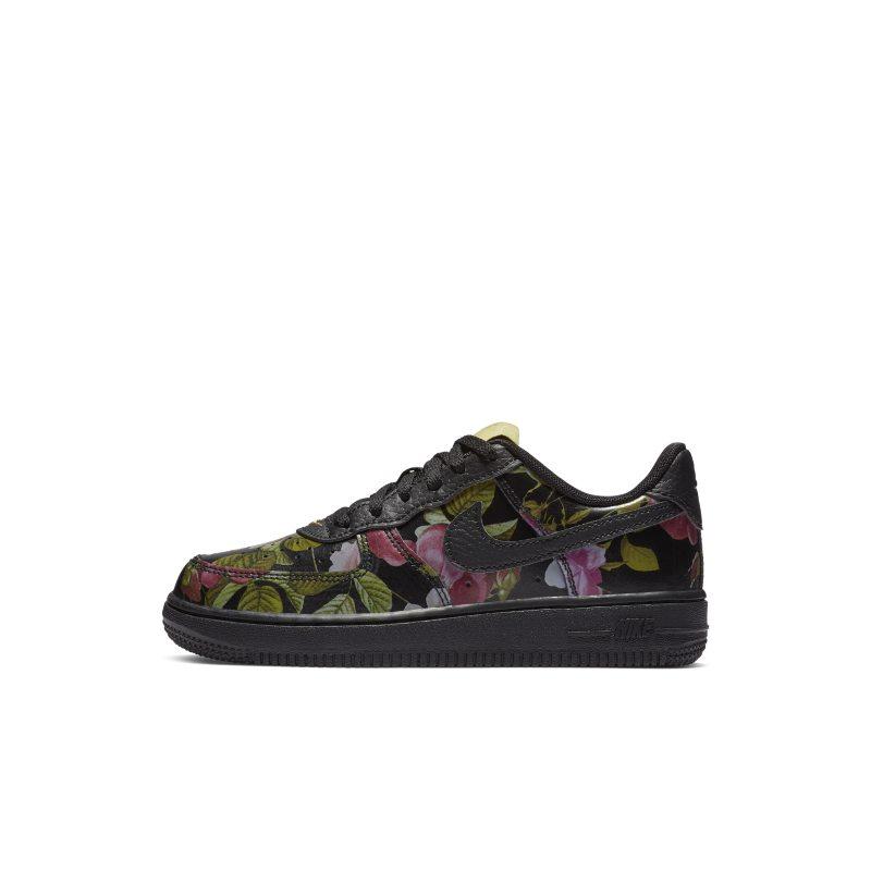 uk availability 94f36 69951 Blommig sko Nike Force 1 LXX för små barn - Svart