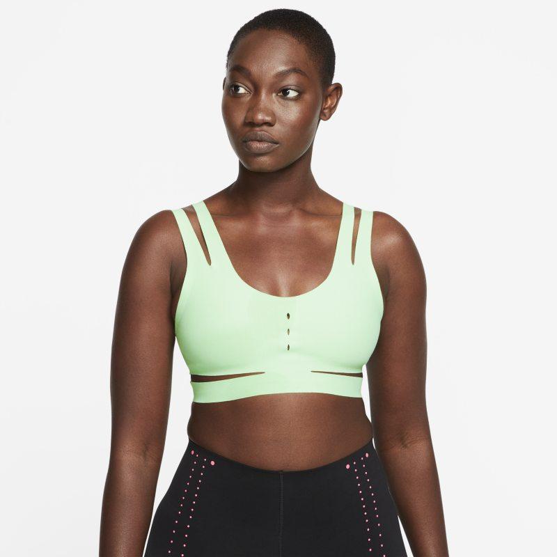 Nike Sujetador deportivo de protección ligera sin acolchado - Mujer - Verde