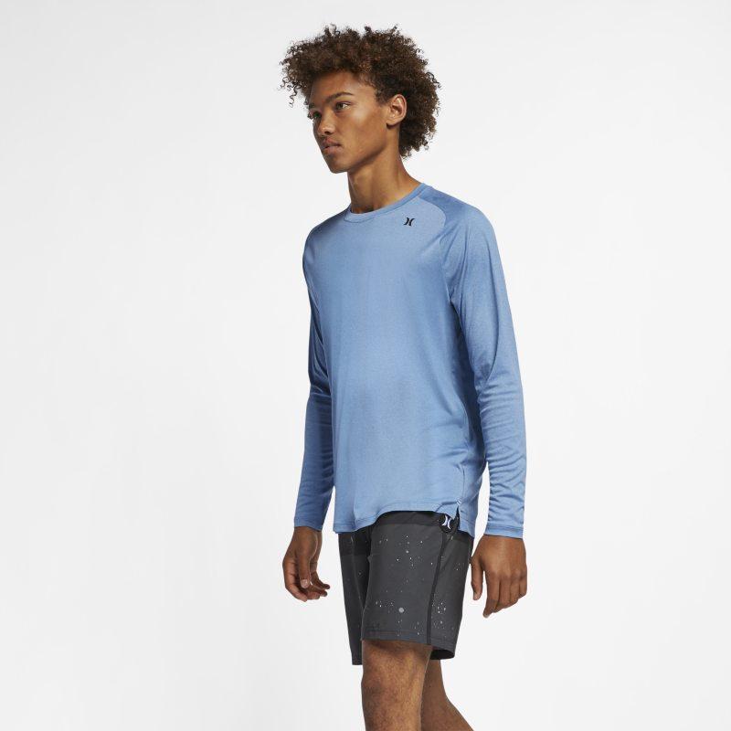 Hurley Quick Dry Uzun Kollu Erkek Tişörtü  AV5552-481 -  Mavi 2XL Beden Ürün Resmi