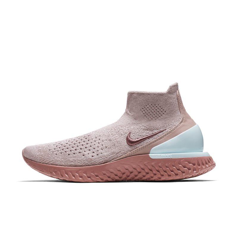 Nike Rise React Flyknit Zapatillas de running - Mujer - Marrón