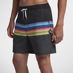 15%OFF!<ナイキ(NIKE)公式ストア>ハーレー ファントム チル ボレー メンズ 17インチ ボードショーツ AV6359-010 ブラック 30日間返品無料 / Nike+メンバー送料無料