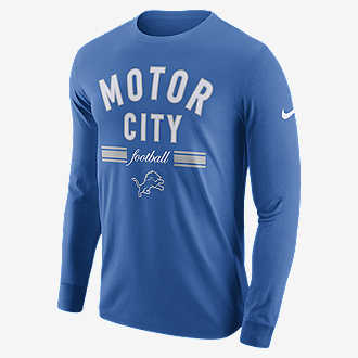 Nike Dri-FIT (NFL Lions). Men s Long-Sleeve T-Shirt 579a2d51f