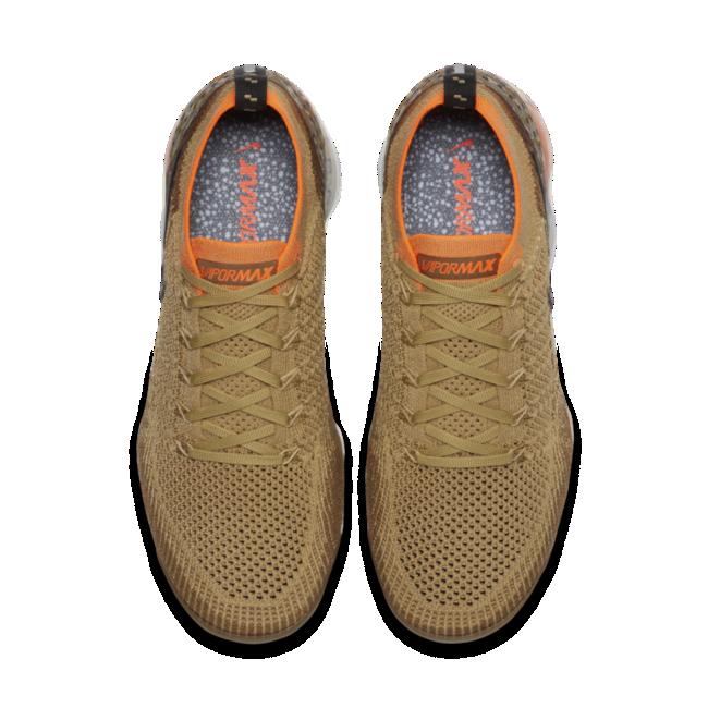 Nike Air VaporMax herensneaker goud