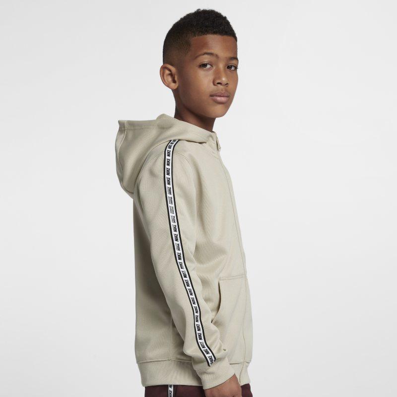 Nike Sportswear Tam Boy Fermuarlı Genç Çocuk Kapüşonlu Üst  AV8387-221 -  Kahverengi XL Beden Ürün Resmi
