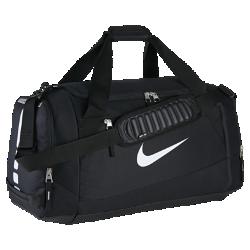 Сумка-дафл Nike Hoops Elite Max Air Team (большой размер)Сумка-дафл Nike Hoops Elite Max Air Team (большой размер) вместит всю необходимую экипировку, не создавая лишнего объема. Мягкая лямка и влагонепроницаемая ткань обеспечивают надежную защиту содержимого и комфорт.<br>