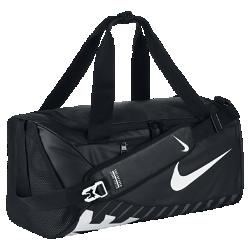Сумка-дафл Nike Alpha Adapt Cross Body (маленький размер)Сумка-дафл Nike Alpha Adapt Cross Body из прочного водонепроницаемого материала с двойными ручками и мягкой лямкой защищает экипировку и обеспечивает удобство переноски.Регулируемая боковая застежка позволяет комфортно носить сумку через плечо.<br>