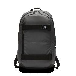 Рюкзак Nike SB CourthouseВ рюкзаке Nike SB Courthouse есть место для всей необходимой экипировки, в том числе для скейтборда. Плотный тканый материал гарантирует износостойкость конструкции.<br>