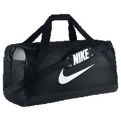 Сумка-дафл для тренинга Nike Brasilia (большой размер)Сумка-дафл для тренинга Nike Brasilia с вместительным основным отделением и вентилируемым карманом для влажной/сухой обуви позволяет удобно хранить экипировку.<br>
