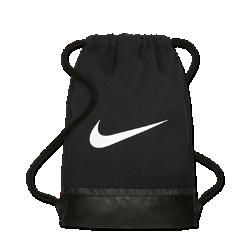 <ナイキ(NIKE)公式ストア>ナイキ ブラジリア トレーニングジムサック BA5338-010 ブラック 30日間返品無料 / Nike+メンバー送料無料画像