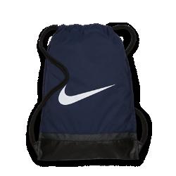 Спортивная сумка Nike BrasiliaСпортивная сумка Nike Brasilia с легкой минималистичной конструкцией позволяет носить с собой все необходимое для тренировок и повседневной жизни.<br>