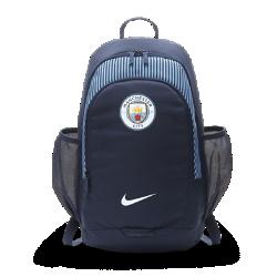 Футбольный рюкзак Manchester City FCФутбольный рюкзак Manchester City FC с мягкими регулируемыми лямками и несколькими отделениями предназначен для удобного хранения и переноски вещей.<br>
