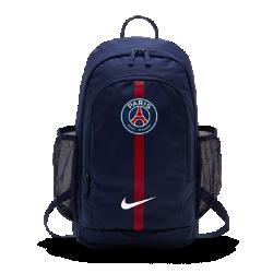 Футбольный рюкзак Paris Saint-Germain StadiumФутбольный рюкзак Paris Saint-Germain Stadium с мягкими регулируемыми лямками и несколькими отделениями для удобной и организованной переноски вещей.<br>