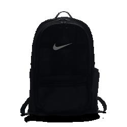 15%OFF!<ナイキ(NIKE)公式ストア>ナイキ ブラジリア メッシュ トレーニングバックパック BA5388-010 ブラック 30日間返品無料 / Nike+メンバー送料無料画像