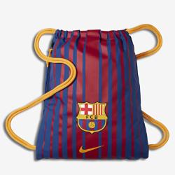 Футбольный мешок на завязках FC Barcelona StadiumФутбольный мешок на завязках FC Barcelona Stadium с легкой минималистичной конструкцией с фирменными деталями позволяет иметь под рукой всю нужную экипировку.<br>