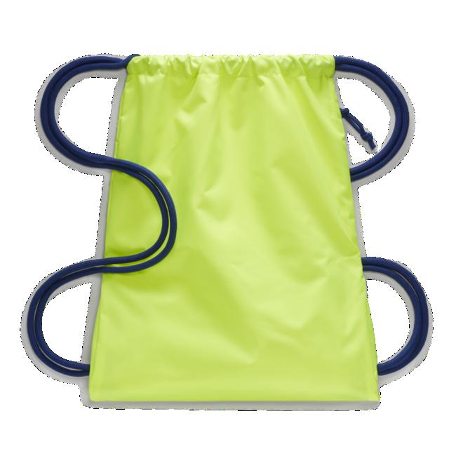 Nike voetbaltas geel