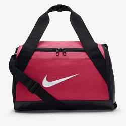 Сумка-дафл для тренинга Nike Brasilia (очень маленький размер)Сумка-дафл для тренинга Nike Brasilia из прочных влагонепроницаемых материалов с вентилируемым карманом для влажной/сухой обуви позволяет удобно хранить экипировку.<br>