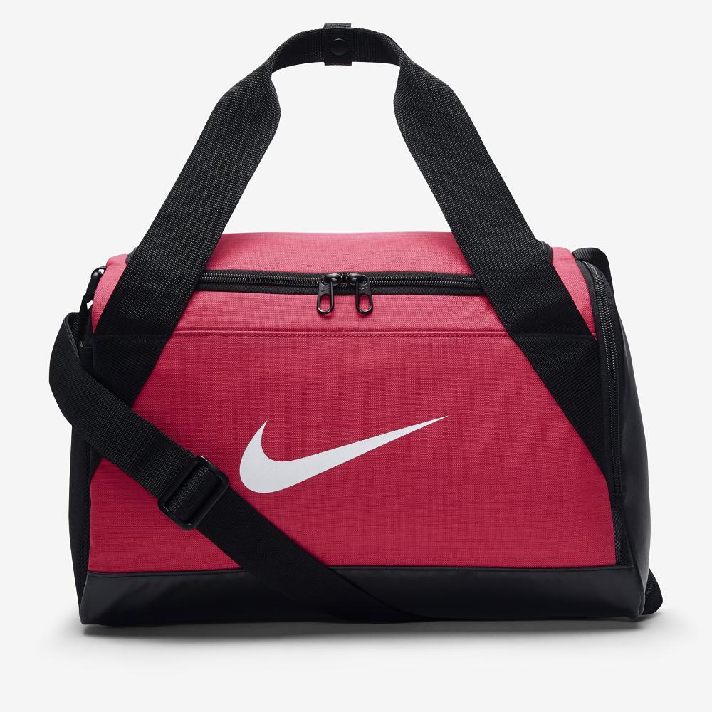 <ナイキ(NIKE)公式ストア> ナイキ ブラジリア (XS) トレーニングダッフルバッグ BA5432-644 ピンク ★30日間返品無料 / Nike+メンバー送料無料