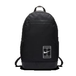 Теннисный рюкзак NikeCourtТеннисный рюкзак NikeCourt со специализированными отделениями и мягкими лямками позволяет иметь всю необходимую экипировку под рукой.<br>