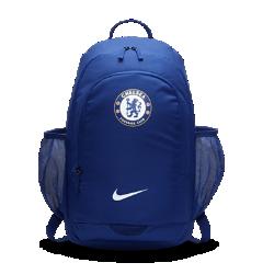 Футбольный рюкзак Chelsea FC StadiumФутбольный рюкзак Chelsea FC Stadium с мягкими регулируемыми лямками и несколькими отделениями для удобного хранения и переноски вещей.<br>