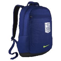 Детский футбольный рюкзак Nike NeymarДетский футбольный рюкзак Nike Neymar с вместительным основным отделением и дополнительным карманом позволяет надежно и организованно хранить экипировку.<br>