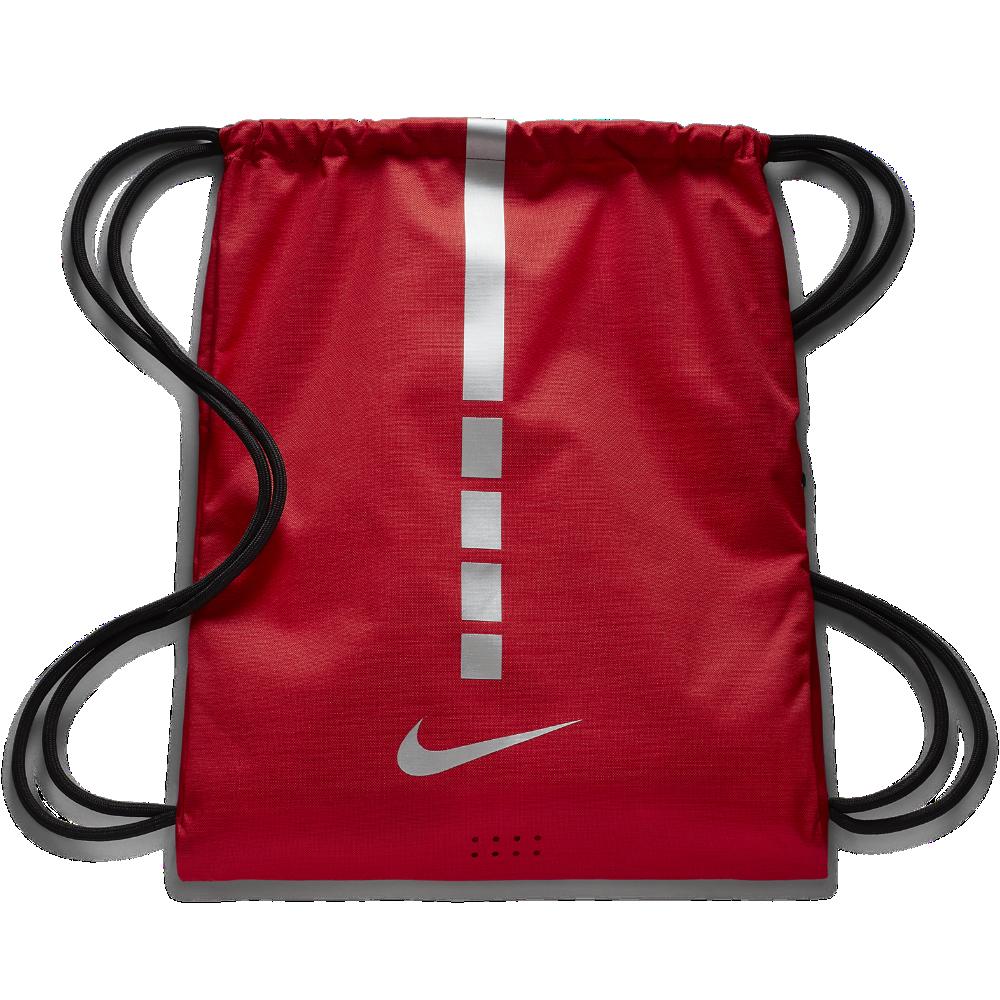 <ナイキ(NIKE)公式ストア> ナイキ フープス エリート バスケットボール ジムサック BA5552-657 レッド ★30日間返品無料 / Nike+メンバー送料無料
