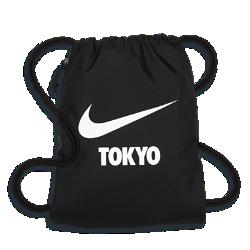 <ナイキ(NIKE)公式ストア>ナイキ ヘリテージ スウッシュ (Tokyo) ジムサック BA5851-047 ブラック画像