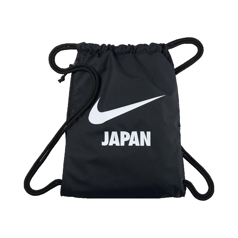 <ナイキ(NIKE)公式ストア> ナイキ ヘリテージ スウッシュ (Japan) ジムサック BA5851-056 ブラック ★30日間返品無料 / Nike+メンバー送料無料