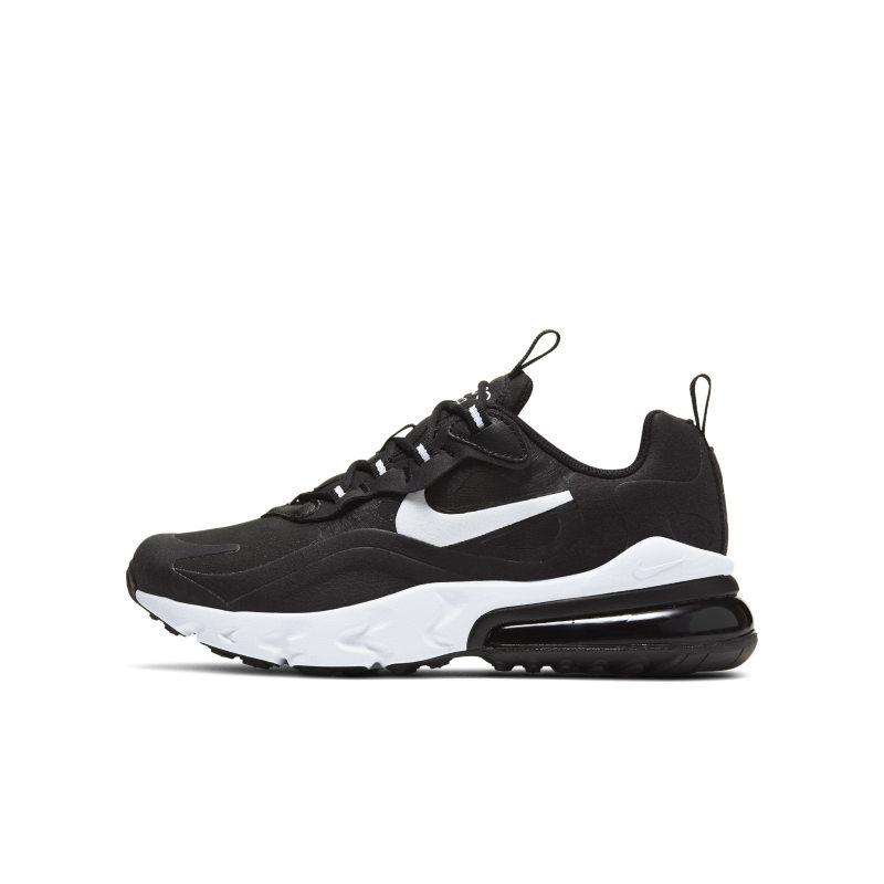 Nike Air Max 270 React Schuh für ältere Kinder Schwarz