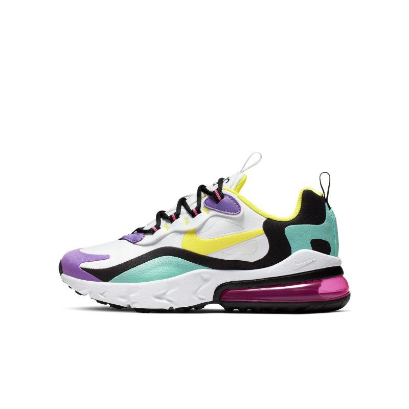 Outlet de sneakers Nike Air Max 270 React Nike niño y niña