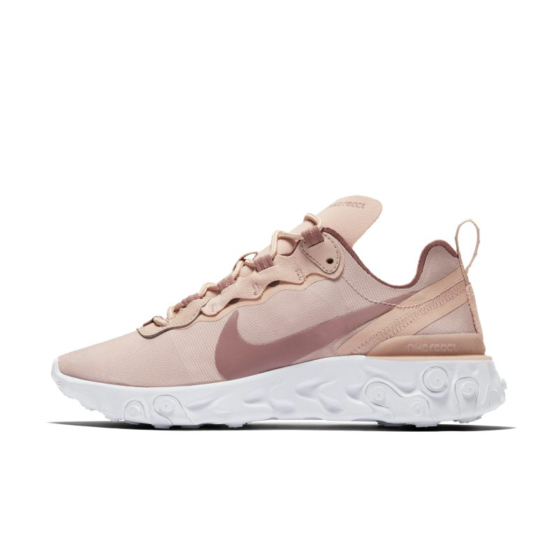 Nike React Element 55 Zapatillas - Mujer - Crema