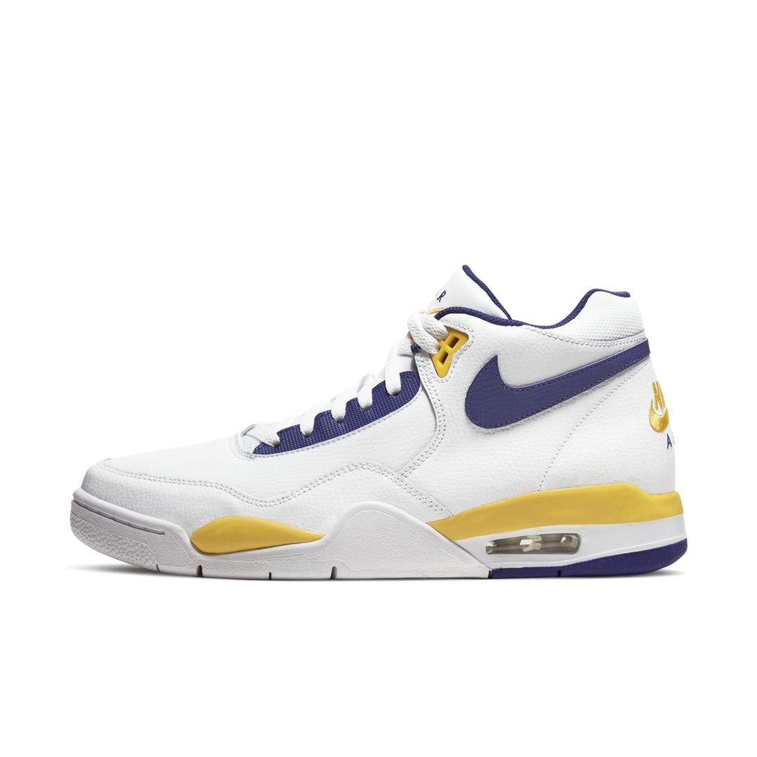 Nike Flight Legacy Men's Shoe Size 9 (White/University Gold) BQ4212-102