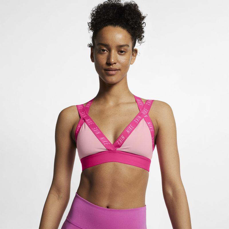 Nike Indy Sujetador deportivo de sujeción ligera - Mujer - Rosa